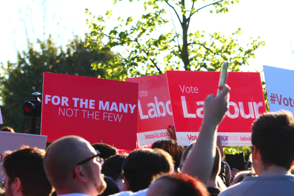 Labour campaign rally